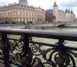 Pont Notre-Dame love padlocks